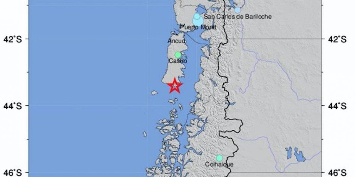 Sismo de magnitud 6,9 sacude el sur de Chile y emiten alerta de tsunami