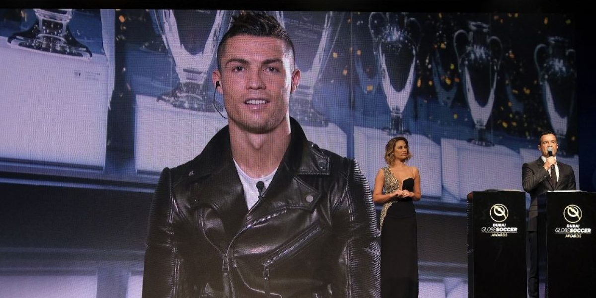 Cristiano Ronaldo: el mejor jugador en los Globe Soccer Awards