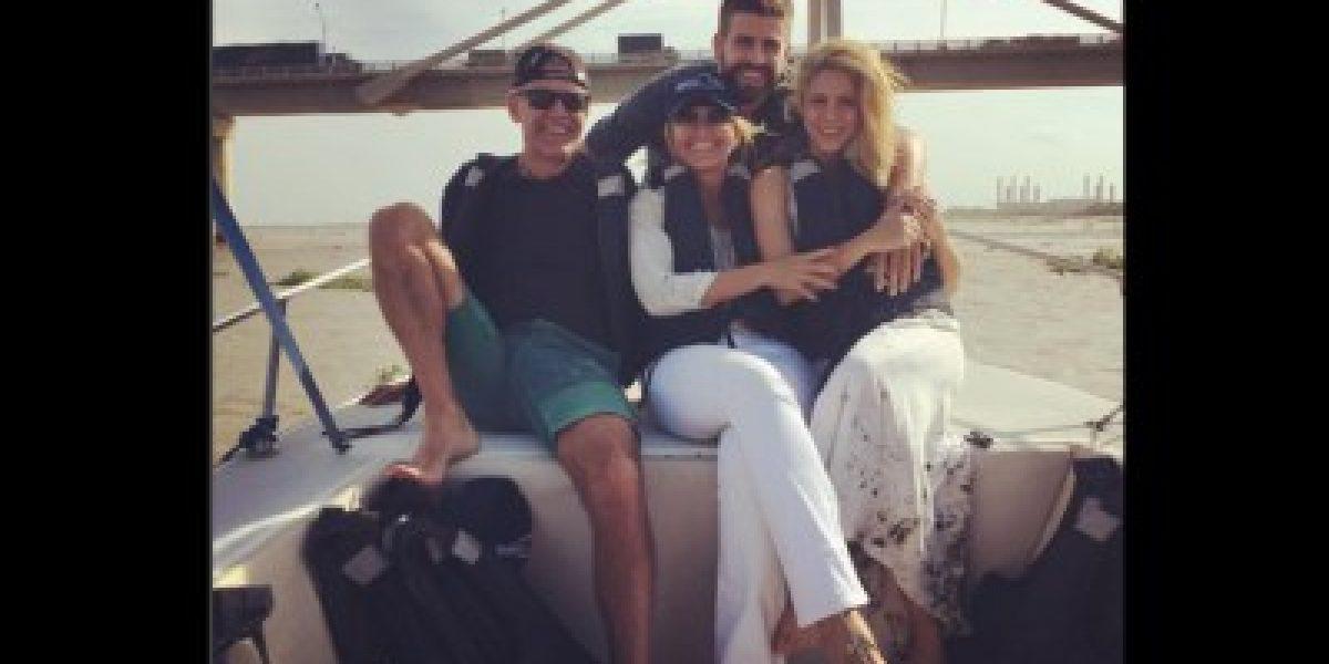 Shakira y Piqué enloquecieron a Barranquilla en su corta visita