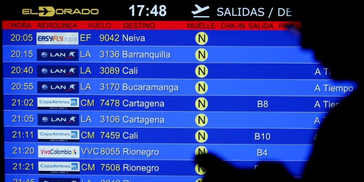 Aeronáutica Civil de Colombia investigará a tres aerolíneas