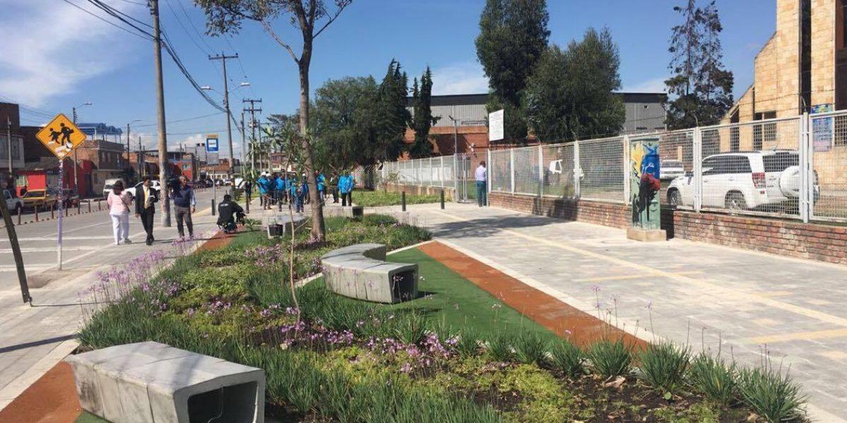 Las 9 obras que entregó el IDU a los bogotanos finalizando 2016