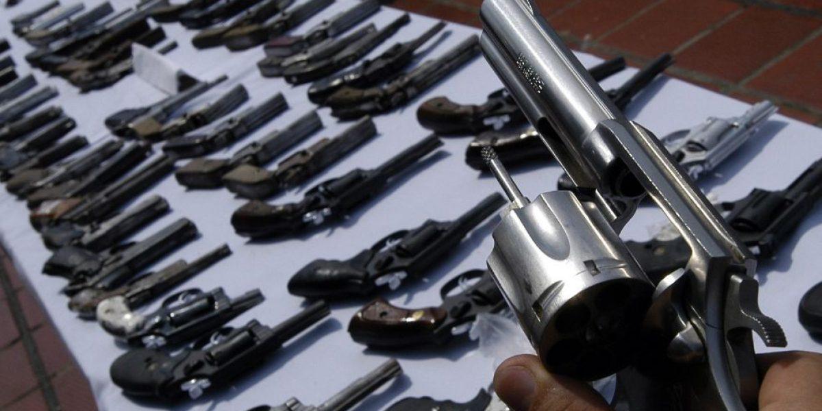 En 2017 se mantendrá la prohibición del porte de armas