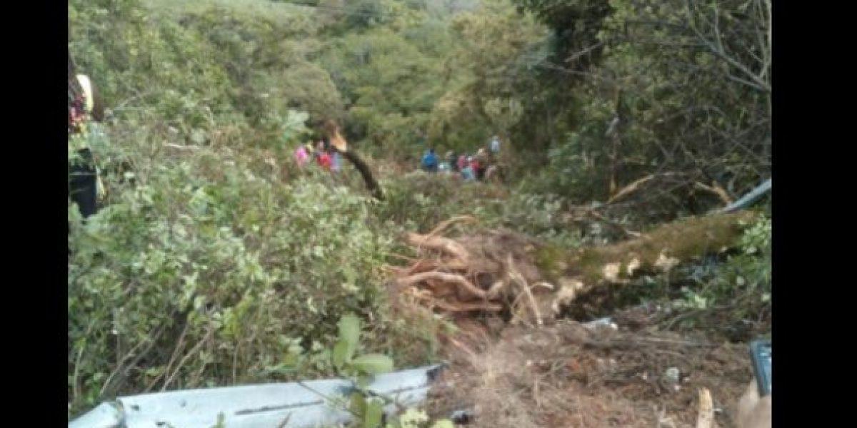 Al menos siete muertos deja accidente de transito en la vía Popayán - Pasto