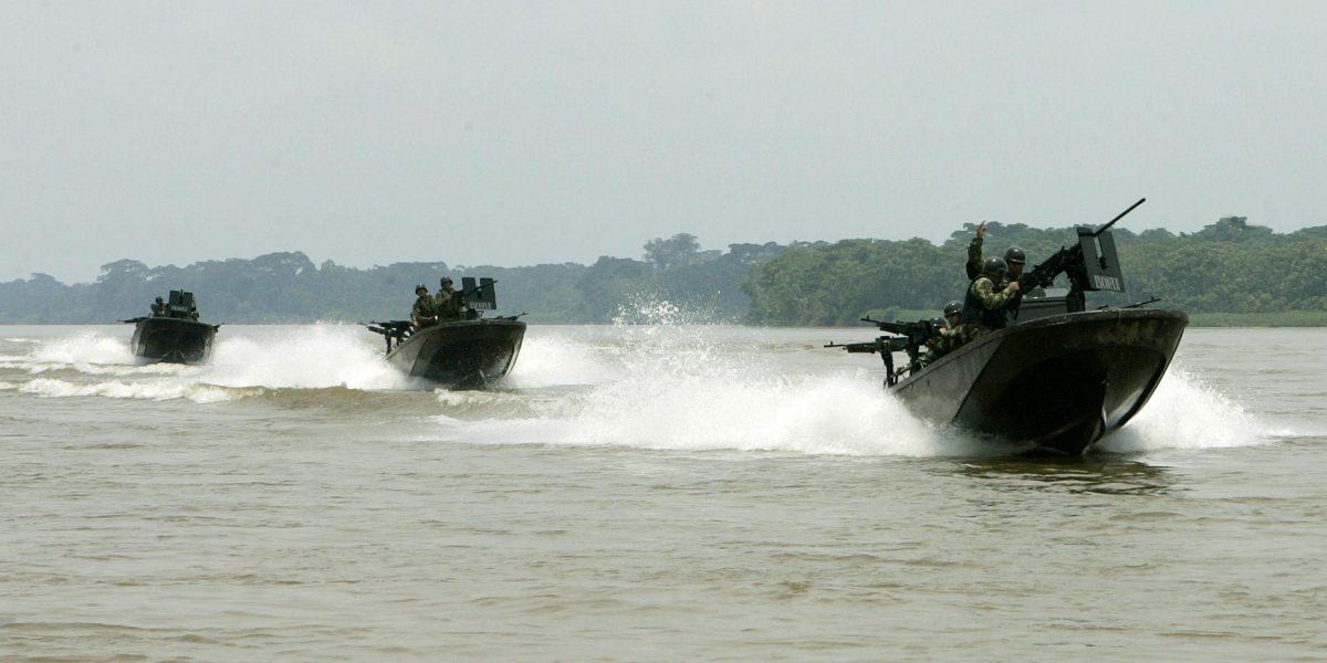 Armada incautó carga de droga en el Pacífico