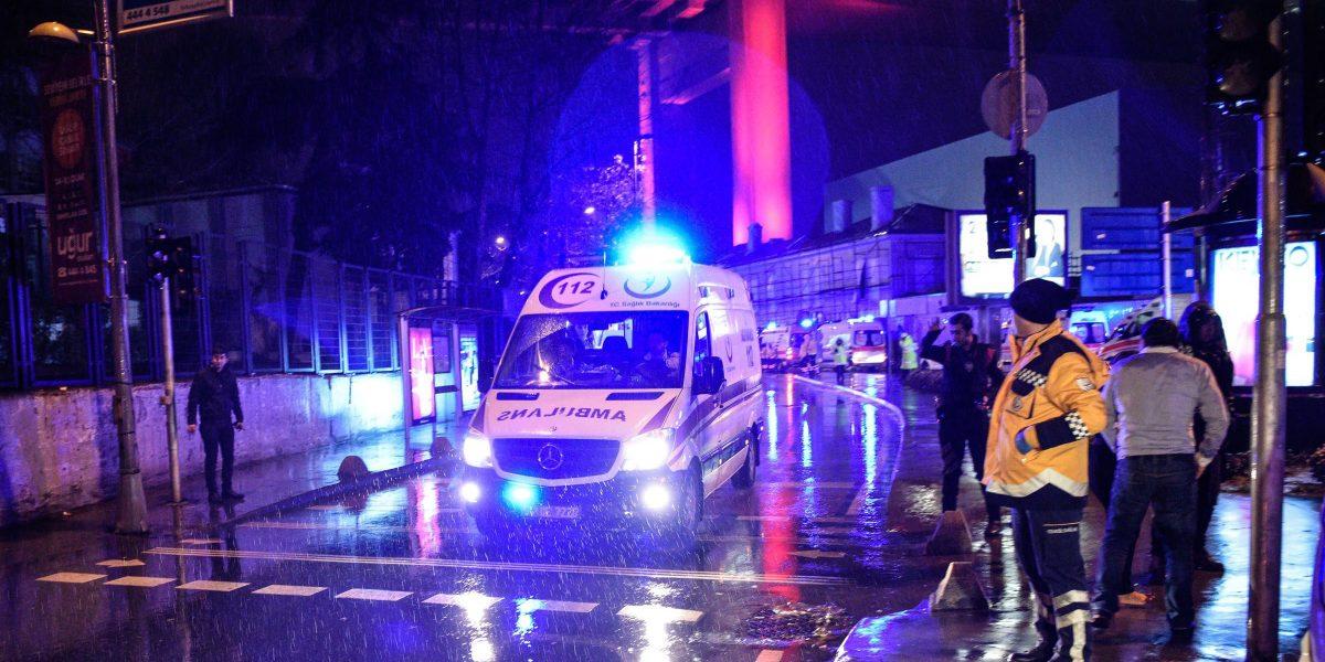 Masacre en un club de Estambul deja 35 muertos
