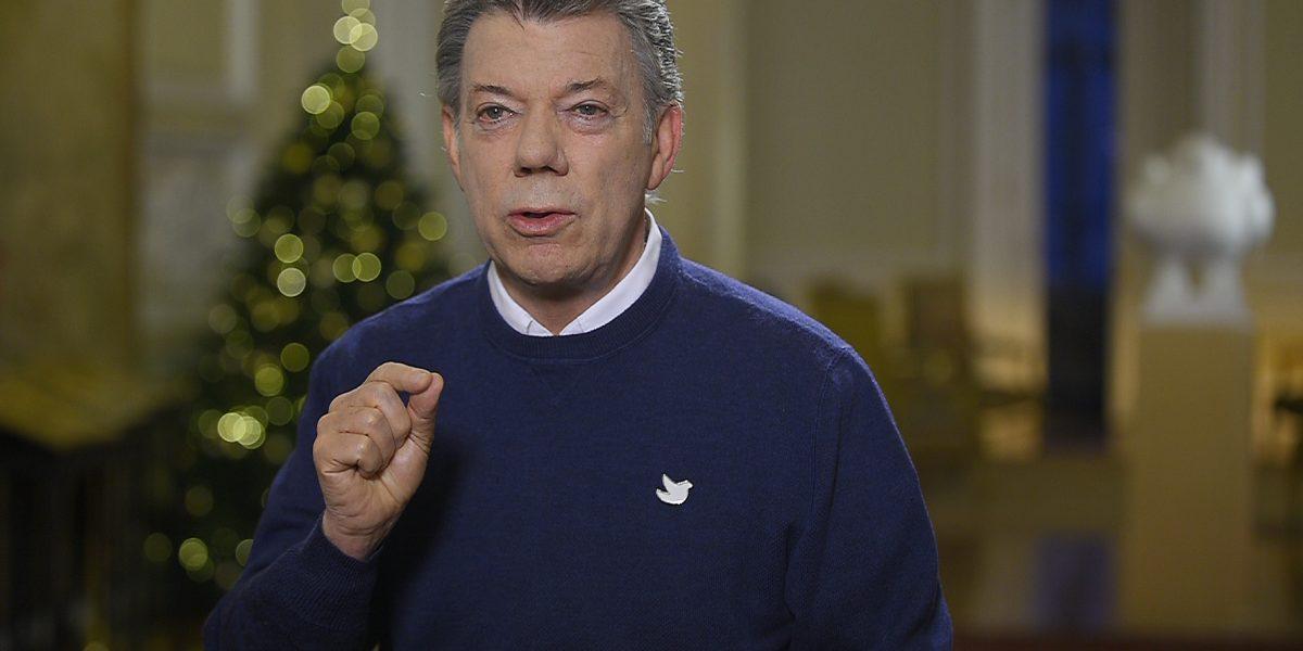 """""""Colombia, el país del año"""": Presidente Juan Manuel Santos"""