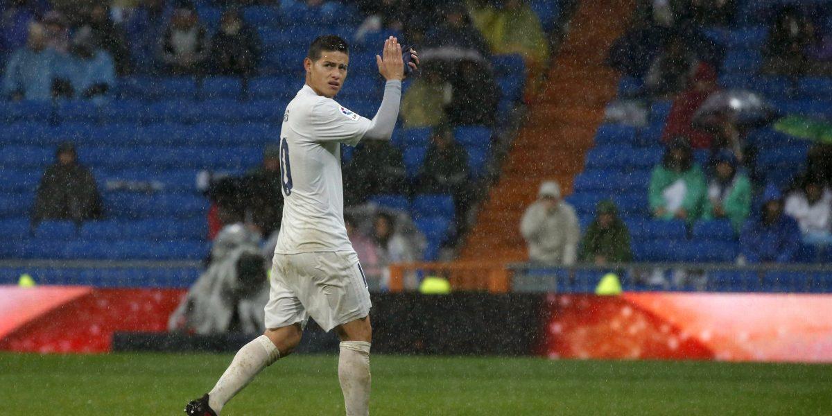 Video: Aficionados le piden a James que no se vaya de Real Madrid