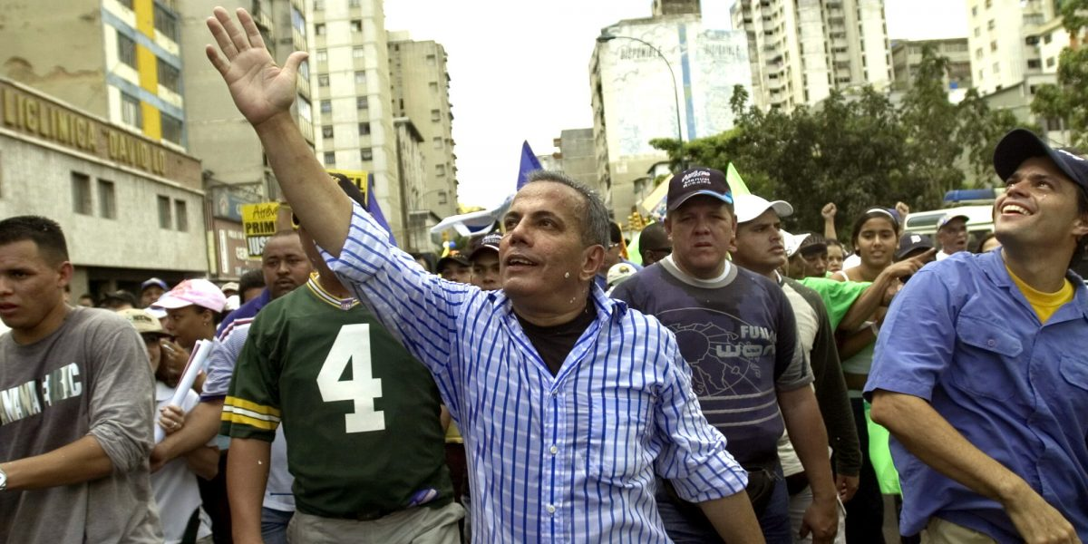 Liberan al opositor venezolano Manuel Rosales, preso hace más de un año