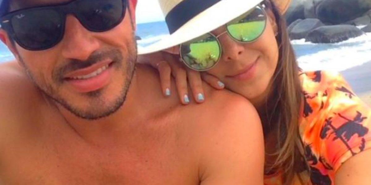 Pedro Palacio y su novia se desnudaron para redes sociales