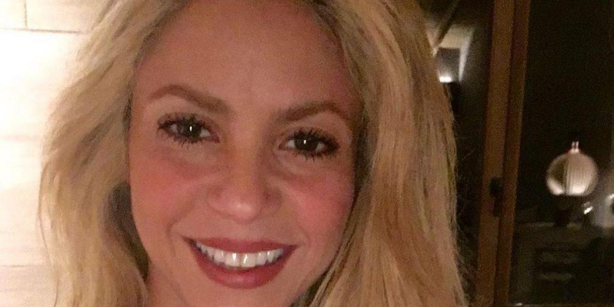 Shakira sufrió accidente de tránsito junto a su familia
