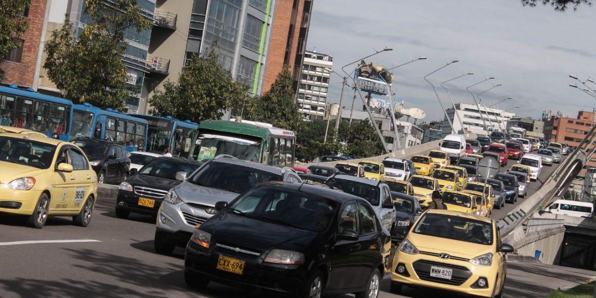 Hasta con helicóptero persiguieron a conductor que causó accidente en Bogotá