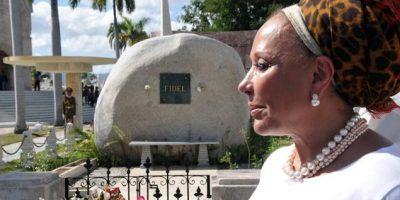 En la tumba de Fidel, Piedad Córdoba anunció candidatura presidencial