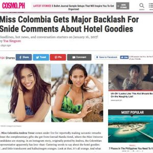 Cosmopolitan Filipinas