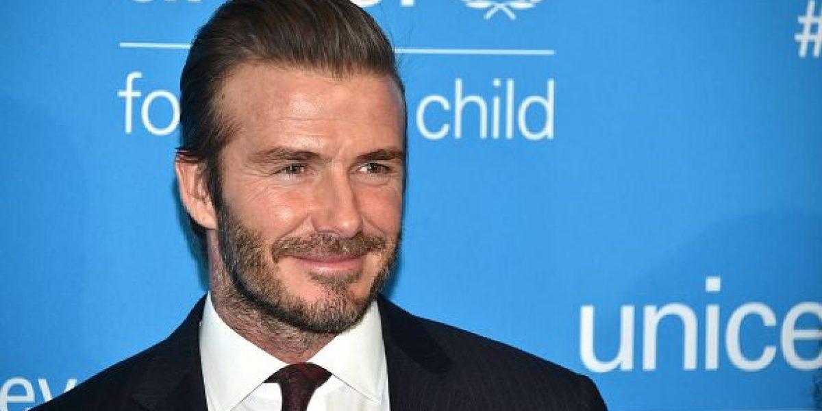 David Beckham habría usado a la Unicef para recibir un