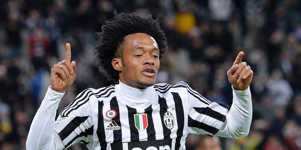 Cuadrado marcó gol en el triunfo parcial de Juventus sobre Sampdoria