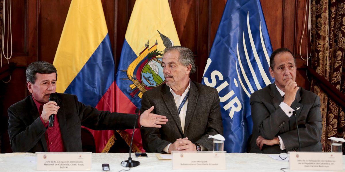 Gobierno y el Eln acuerdan la creación de dos submesas en los diálogos de paz