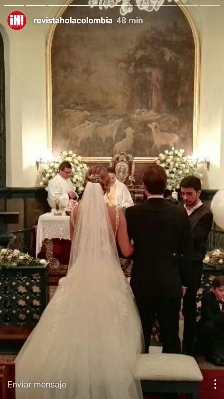 Matrimonio Catolico Laura Tobon : Fotos ¡se casó así lució laura tobón en su boda