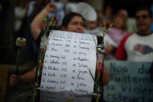 manifestacion-hoarseguro-victimas-incendio-guatemala