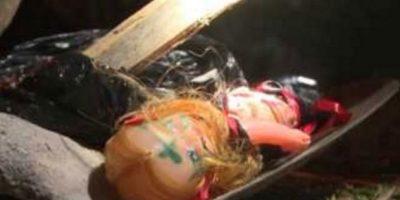 Sufren rara enfermedad y culpan a muñeca vudú