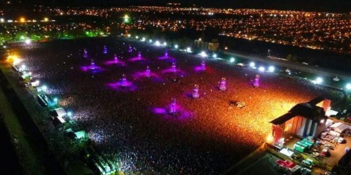 Dos muertos por avalancha en concierto en Argentina