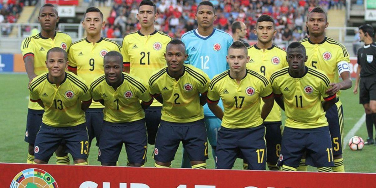 Colombia se enfrenta a Venezuela este lunes en el Sudamericano Sub-17