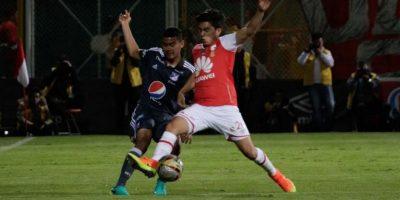 Con goleada ante Santa Fe, Millonarios cierra jornada de clásicos en Colombia