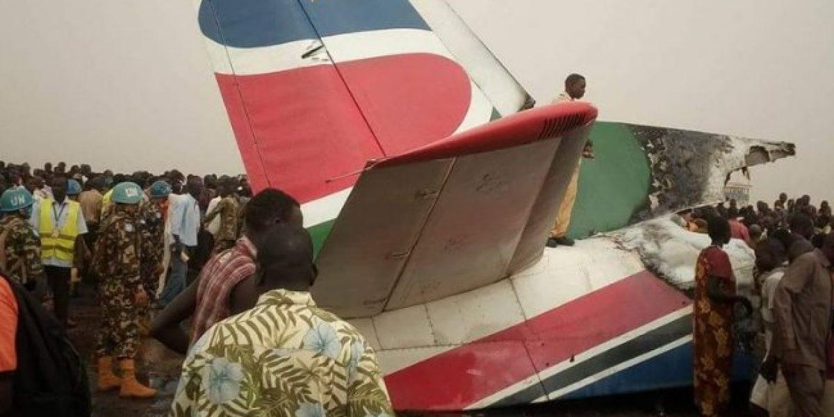 Se estrella avión comercial con 44 pasajeros, no hay sobrevivientes