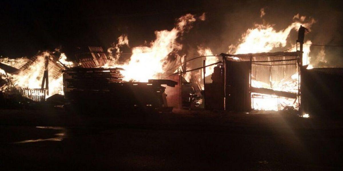 Incendio generó caos al sur de Bogotá en el marco del Plan Retorno