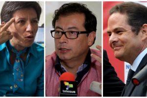 Encuesta presidencial con Petro, Vargas Llleras y López a la cabeza