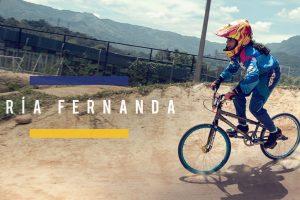 La próxima campeona colombiana de BMX podría ser una niña que entrena con el corazón
