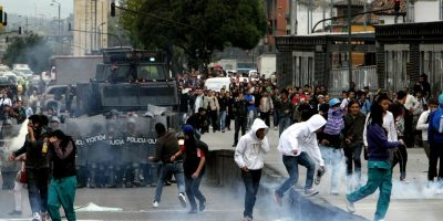 Esmad y policía así se prepara TransMilenio para protestas mañana