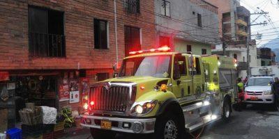 Una persona murió durante un incendio ocurrido en el barrio Buenos Aires