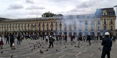 Personería solicitó a Procuraduría que investigue al ESMAD por gas lacrimógeno