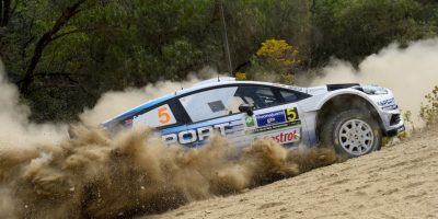 """WRC: El francés Sebastien Ogier consigue un """"hat trick""""en el Rally de México"""