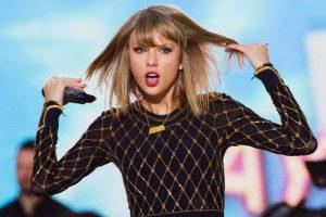 """La cantante Taylor Swift quitó sus temas de la aplicación por considerarla una """"mala opción"""". Foto:twitter.com/Univ_espect/"""