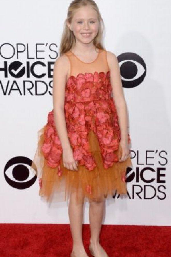 Hasta que Loreto se presentó. El papel de ella originalmente era el de un niño. Foto:vía Getty Images