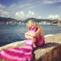 Ella tiene 10 años y es nieta del empresario mexicano Carlos Peralta. Foto:vía Instagram/Loreto Peralta