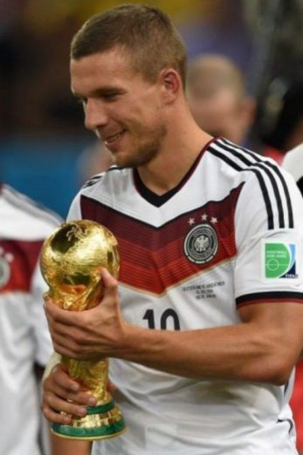 """Lukas Podolski: """"El fútbol es como el ajedrez, pero sin dados"""". Foto:Getty Images"""