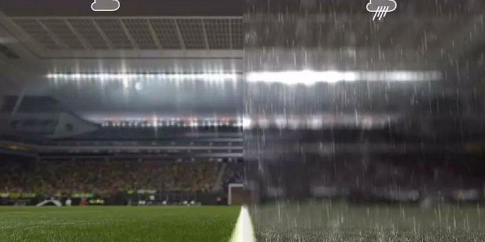 PES 2016 tendrá clima dinámico. Foto:Konami