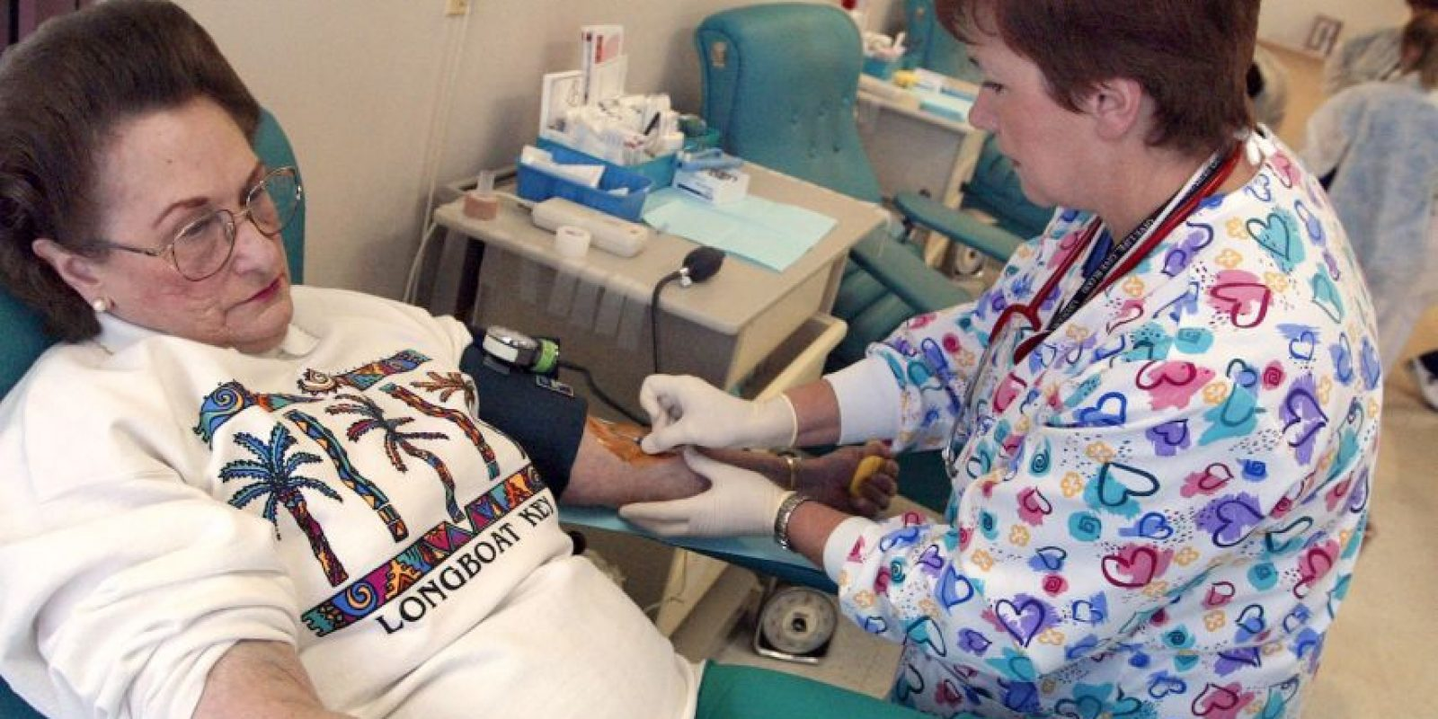 Solo se puede asegurar un suministro suficiente de sangre no contaminada mediante la donación regular por voluntarios no remunerados Foto:Getty Images