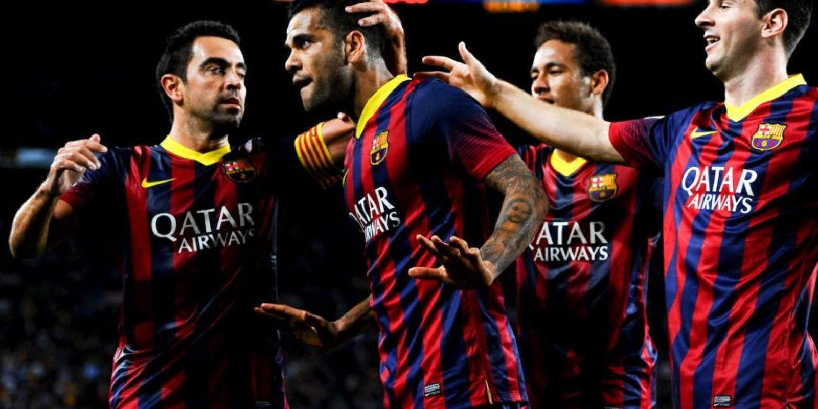"""Todo porque en la pasada Copa del Rey, Neymar hizo una """"jugada de lujo"""" cuando el marcador ya era 3-1 para los """"Culés"""". Foto:Getty Images"""