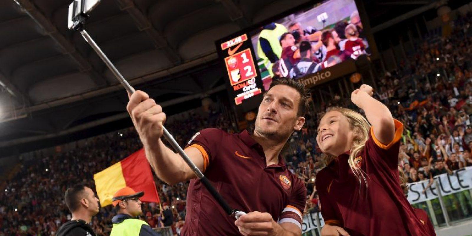 """Francesco Totti: """"He leído a Shakespeare pero no sé quien escribió el libro"""". Foto:Getty Images"""