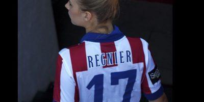 Actualmente, juega para el Atlético de Madrid de España. Foto:Vía instagram.com/nicoleregnier