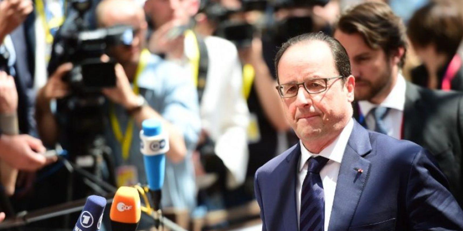 Francois Hollande, de Francia Foto:AFP