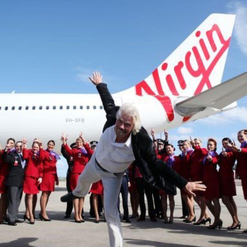 Es CEO de Virgin Mobile y uno de los 12 hombres más ricos de Inglaterra. Foto:vía Getty Images