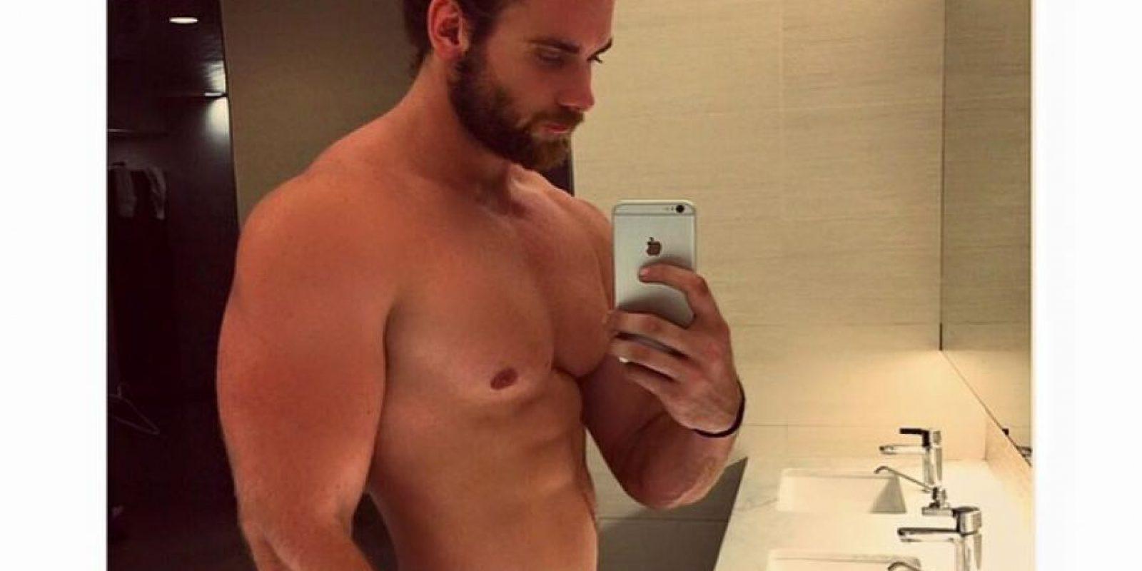 Si tienen pectorales de Gokú, muéstrenlo. Sean el Taylor Lautner sin camisa que todas desearían. Nunca se pongan nada. Foto:vía Instagram