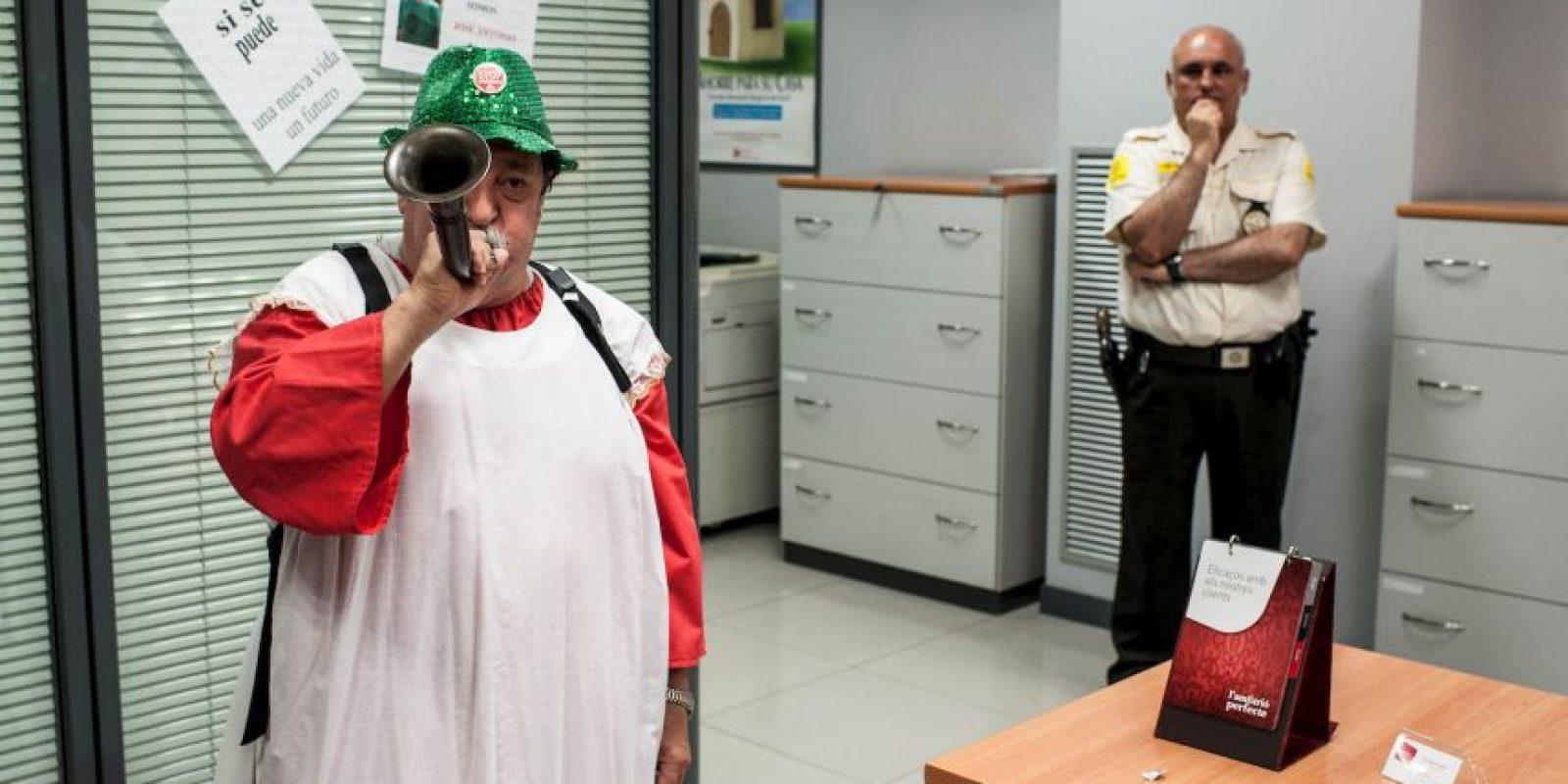 """""""Nunca me sentí culpable porque no ataqué a nadie. Incluso sentía un poco de simpatía por los trabajadores de los bancos"""". Foto:Getty Images"""
