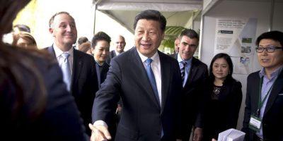 Y Xi Jinping, de China Foto:Getty Images