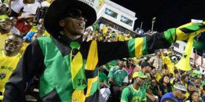 """La afición de los """"Reggae Boyz"""" alentará en todo momento. Foto:twitter.com/CA2015"""