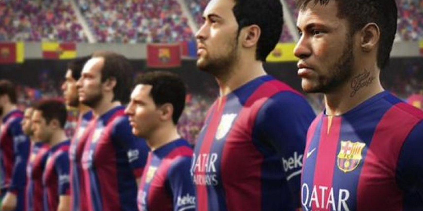 El Barcelona en el FIFA 16 Foto:EA Sports